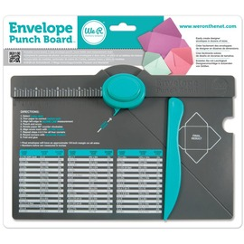 71277-0-We R-Envelope Punch Board多合一信封製作板
