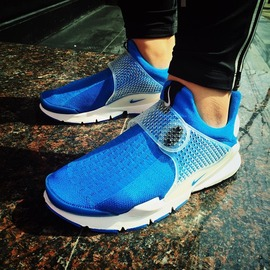 Nike SOCK DART SP/FRAGMENT 藤原浩 閃電天藍 728748-401 情侶款